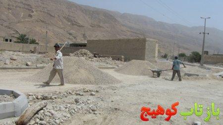 عملیاتی شدن پروژه ی آسفالت خیابان خلیج فارس