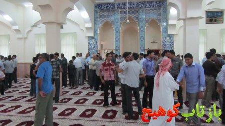 شروع عید با بارش رحمت الهی