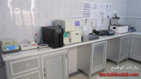 تجهیز آزمایشگاه درمانگاه کوهیج