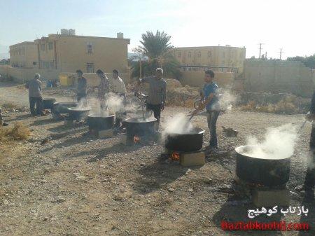 تصاویری زیبا از پخت حلیم