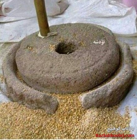 گوشه ای از مراحل پخت نان محلی به روایت تصویر